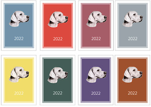 Pointer 2022 A5 Week Per View Diary NORMAL/DOG SHOW DATES/APPOINTMENT