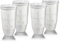 Zero Water Replacement Water Filter Cartridge Refill 5 Stage Filtration - 4 Pack
