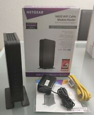 NETGEAR Dual-Band N600 Router with 8 x 4 DOCSIS 3.0 Cable Modem C3700