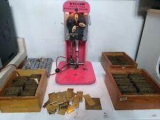 Vigor engraving machine Huge set jewelery, watches Engraver Plates Ring EN 835