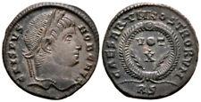 More details for crispus (322 ad) rare follis. rome #ra 9212