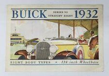 1932 Buick Series 50 Straight Eight Sales Catalog - original catalog