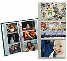 Pioneer Refill Pages for 3-Ring Photo Album, 4 x 6 Photos, Pack of 5 Pages