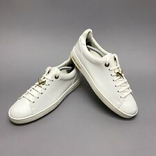 Louis Vuitton women's sneakers front row white leather 38,5 EUR or 8.5 US MS0117