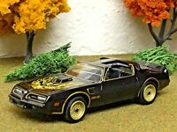 Smokey and the Bandit #1 Limited edition die-cast bandit's 1:64 1977 Pontiac TA