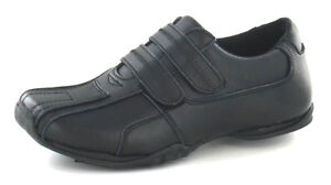 Jc Dees N1R056 Jungen Schulanfang Schuhe Klettverschluss Riemen UK Größe 11 Zu 1