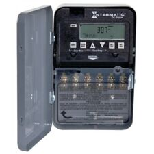 Intermatic ET1100 Series ET1125C Electronic Timer, 30 A, 120/277 V, Gray
