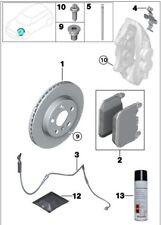 Front Brake Disc Rotor Set of 2 Vent. Genuine Mini Cooper S JCW R56 34116855781