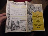 Recueil de Recettes 1971 des Cuisiniers et Patissiers de Dijon & Cote d'Or