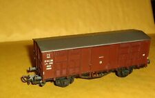 HO Scale/Gauge,Liliput Covered Wagon,Freight Car,Italy,EE 114 236,Austria
