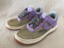 Nike Air Force 1 Premium 4 fantastiques clair Iris Violet Bleu Glace Blanc UK4 EU38