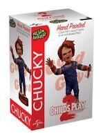 "Childs Play Chucky Head Knocker Normal 7"" Chucky with Knife NECA"