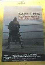 Raging Bull Robert De Niro Joe Pesci 2-Disc Set Region 4 DVD VGC