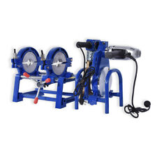 2Clamp Pipe fusion welder HDPE PPR Plastic Welding Butt fusion machine 63-200mm