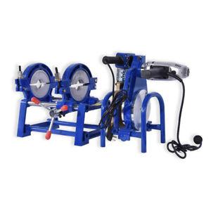 2Clamp Pipe fusion welder HDPE PPR Plastic Welding Butt fusion machine 63-200mm