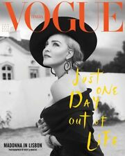 Vogue Italia Vogue Italy Madonna August 2018 SEALED Black And White Photo