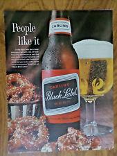 1963 Carling Black Label Beer Ad   Prezels