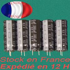 3300 uF 6.3 V condensateur capacitor X 5 marque/brand panasonic  105°C