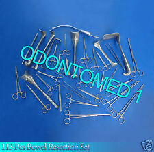113 Pcs  Basic Bowel Resection Set Surgical Instrument