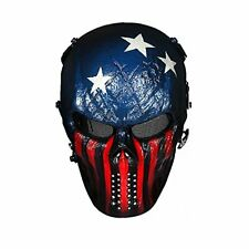 Outdoormaster Airsoft Mask - Full Face Mask With Mesh Eye Protection Captain