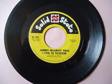 """JIMMY McGRIFF """"I COVER THE WATERFRONT""""  45 RPM Vinyl  Record  """"SLOW BUT SURE"""""""