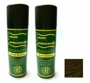 2 pcs My Secret Hair Enhancer DARK BROWN for thinning hair loss 5 oz - TWO PACK