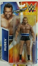 2014 WWE FIRST TIME IN THE LINE SUPERSTAR SERIES #14 FIGURE OF RUSEV