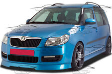 FRONT LIP SPOILER FRONT BUMPER SPLITTER FOR SKODA FABIA 2 from 2006 FA016