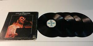 0921- Stevie Wonder - The Stevie Wonder Collection 4LPS-VIN 12 POR G DIS VG