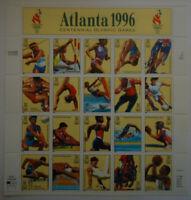 US SCOTT #3068 1996 32 CENTS 1996 ATLANTA OLYMPICS SHEET OF 25 MNH OG