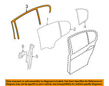 Bmw Oem 07-11 328i Glass-Rear Door-Guide Channel Right 51347060258