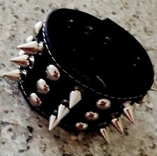 Punk Rock Leather Cuff Spikes Rave Goth Cyber Grunge Rock Hippy Retro Emo Rave