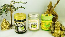 Thai Wellness Schwarz Weiss Balm Salbe Balsam Massage Hong ThaiInhalator Kräuter