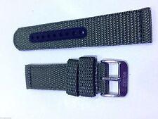 Genuine 20mm Seiko Green Nylon Strap Band Watch Model SNN079 -Strap Model 4KC9JZ