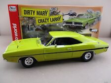 """Dodge Charger R/T 1969"""" Dirty Mary Crazy Larry""""  in gelb Auto World 1:18 OVP NEU"""