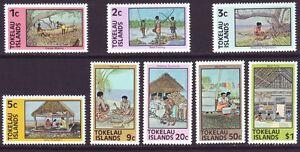 Tokelau Islands 1979 SC 49-56 MNH Set Island Life