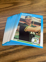 (30) Mark McGwire 1987 Fleer Rookie Card U76 NR-MT+ Oakland Athletics Lot