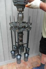 Vintage Metal Gothic Wrought Iron Classic victorian electric lamp or Candle