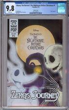 Disney Tim Burton's The Nightmare Before Christmas 1 CGC 9.8 Zero's Journey !