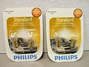 Philips 1895 Standard Signaling Panel Lamp  Twin Pack  LOT OF 2