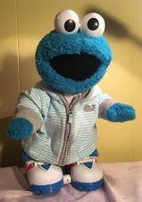Sesame Street Cookie Monster Toy Walking Talking Skates Boots - Works Great!
