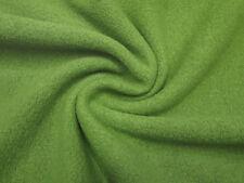 Stoff Ital. Merino Feinwalk Walkloden grün Kleiderstoff Mantelstoff