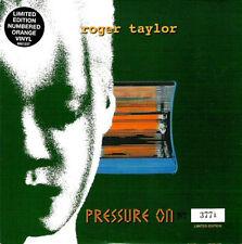 "QUEEN / ROGER TAYLOR - Pressure On ( orange vinyl) 7""  45"