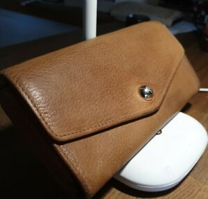 Lovely Ladies Genuine Tan Mulberry Purse - in used Condition with coin wallet