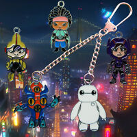 Disney Marvel Big Hero 6.  build your own keychain/keyring Free UK Postage!