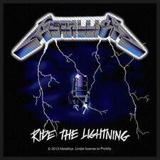 METALLICA - Patch Aufnäher - Ride the lightning 10x10cm
