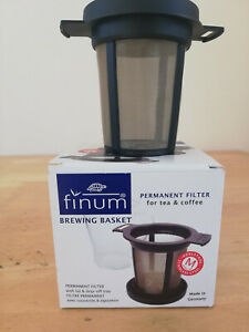FINUM Brewing Basket Permanent Filter for Tea / Coffee. Made in Germany