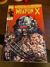 MARVEL COMICS PRESENTS WEAPON X #79 WOLVERINE X-MEN BARRY WINDSOR-SMITH 1991