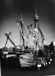 The Matthew, Caravel at Bristol. Black & White Photographic Print, 16 x 12