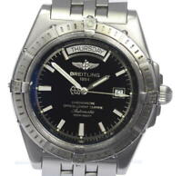 BREITLING Headwind A45355 Black Dial Automatic Men's Watch(a)_480569